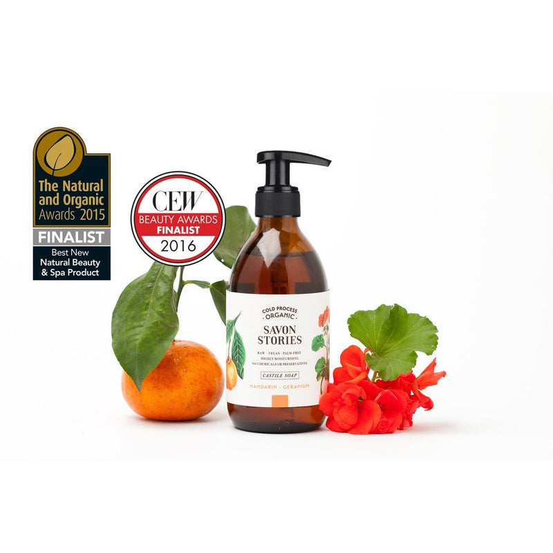 Mandarin & Geranium Hand & Body Wash-Hand & Body Wash-The Beauty Editor