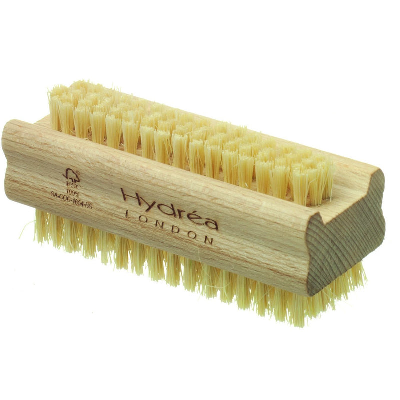 Extra tough Beechwood & Cactus Bristle Nail Brush - The Beauty Editor