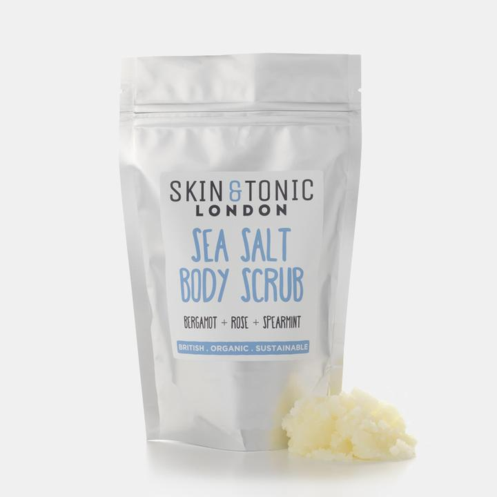 Sea Salt Body Scrub-Body Scrubs-The Beauty Editor