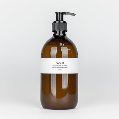 Shampoo with Oregano and Rosemary - The Beauty Editor