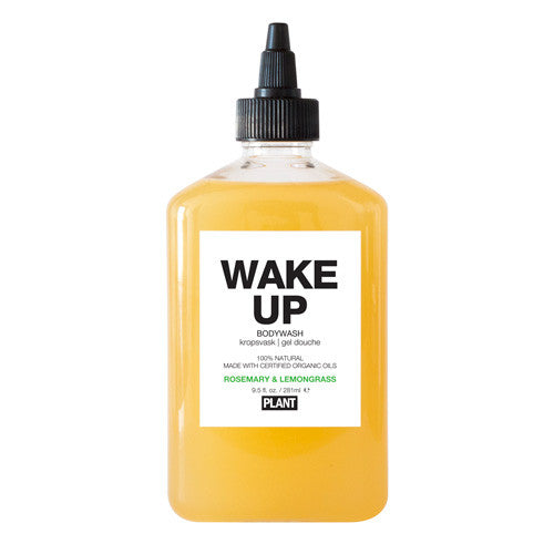 Wake Up Organic Bodywash-Bodywash-The Beauty Editor