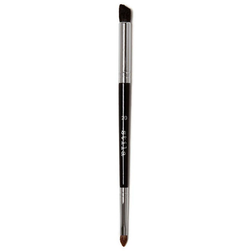 #20 Double-Ended Eye Enhancer Brush-Makeup Brushes-The Beauty Editor