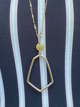 Geo Pendant Necklace - Two Colors