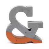 Concrete Ampersand: Bronze