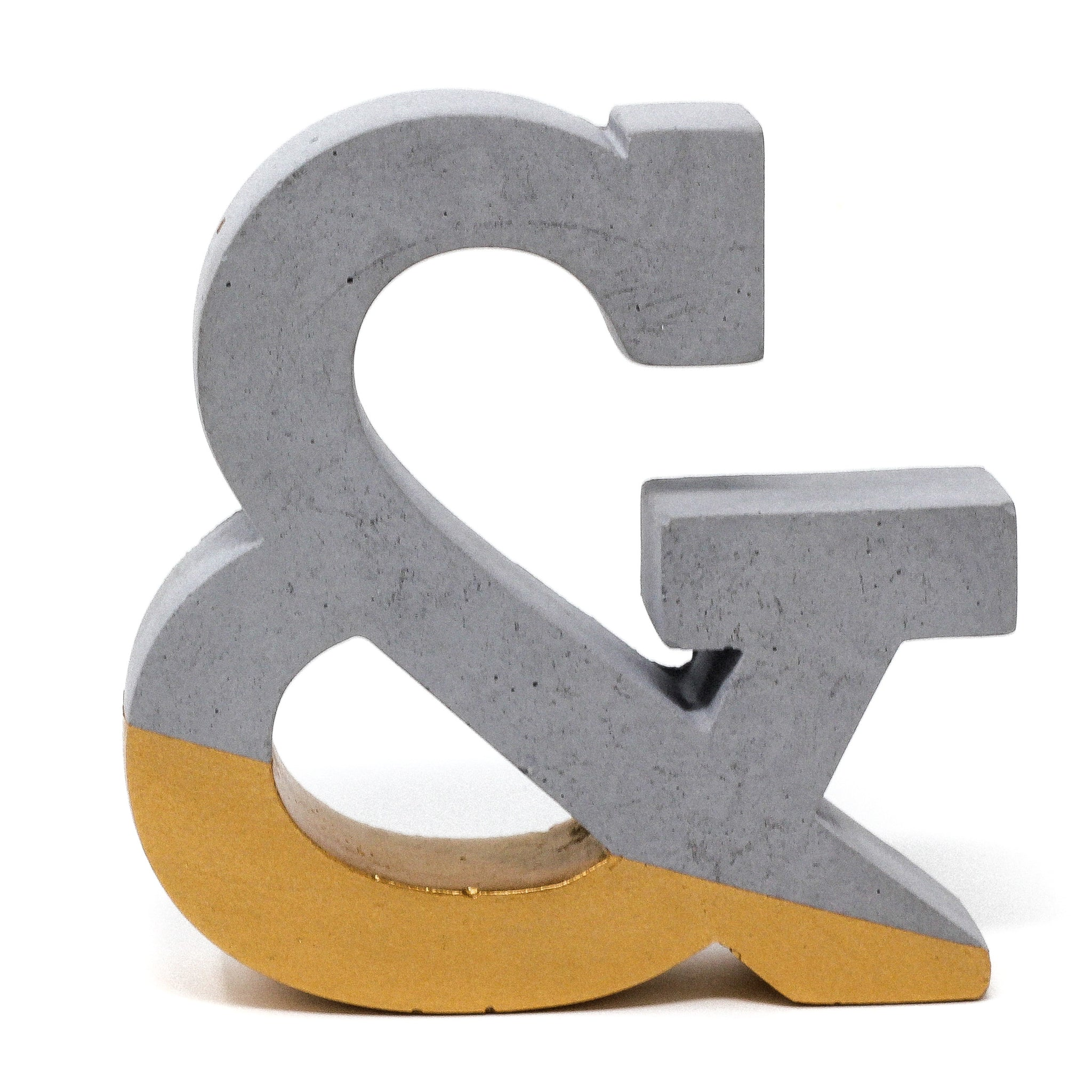 Concrete Ampersand: Gold