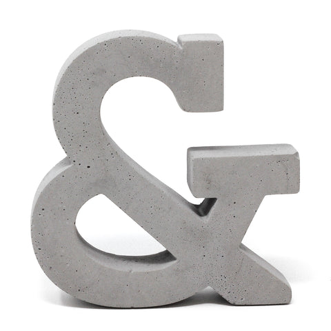 Concrete Ampersand