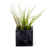 Concrete Cube Planter: Carbon Black