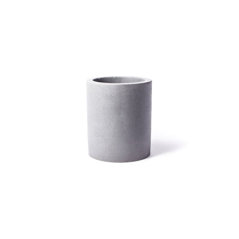 Concrete Planter: Tall Cylinder