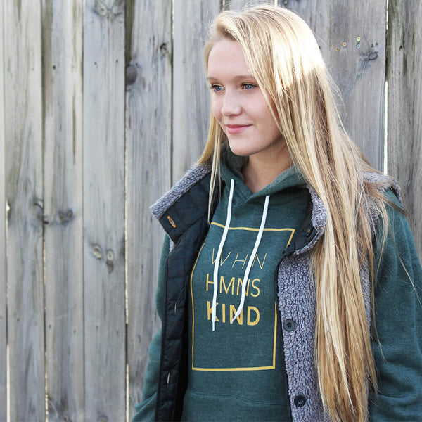 When Humans Kind Classic Hoodie