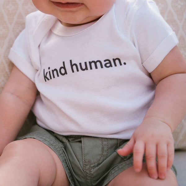 kind human. Bodysuit