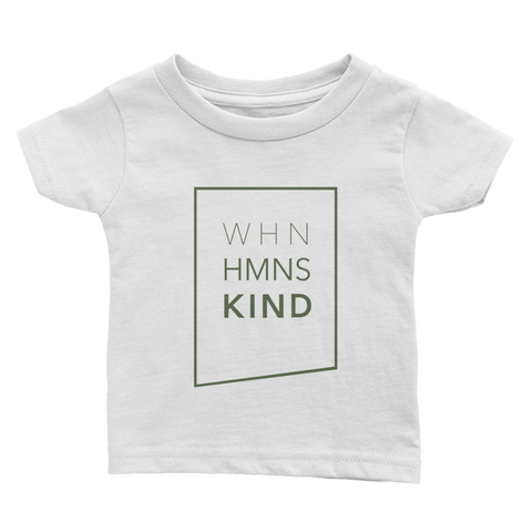 When Humans Kind Classic Baby Tee