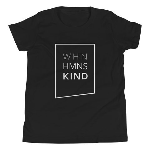 When Humans Kind Classic Youth T-Shirt