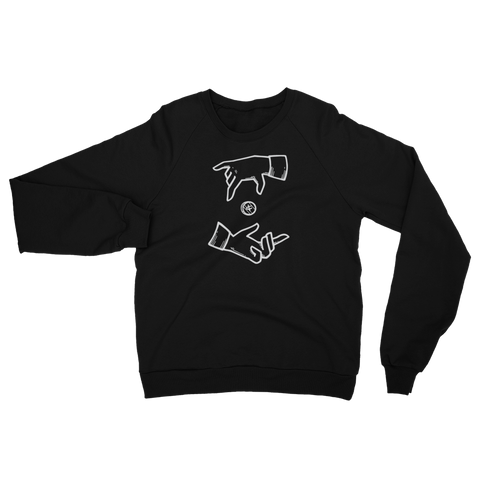 Drop'n Coin for a Cause Crew Neck Sweatshirt