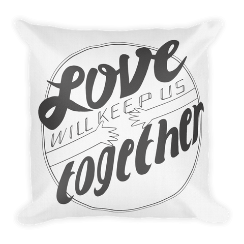 Keep Us Together Throw Pillow