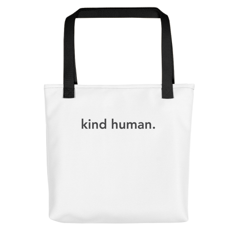 kind human. Tote Bag