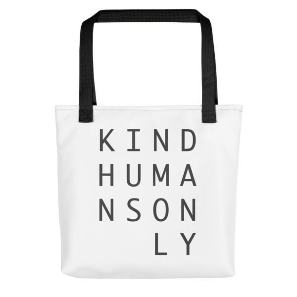 Kind Humans Only Tote bag
