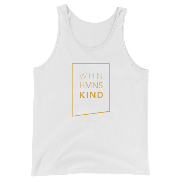 When Humans Kind Classic Tank Top