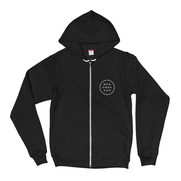 Inner Circle Zip Front Sweatshirt