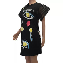Lipstick T-Shirt Dress