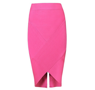 Bandage Hot pink skirt