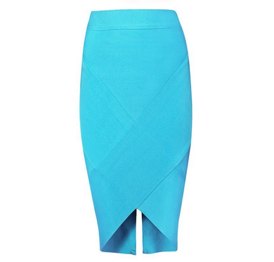Bandage Baby blue skirt