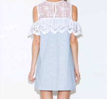 Open Shoulders/ Lace Dress