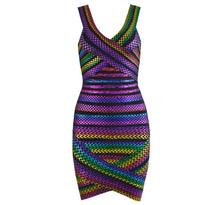 Bandage Neon Mini Dress