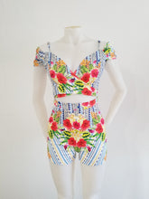 Spicy flowers Romper
