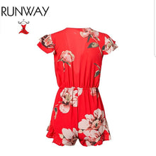 Fire Flower Romper