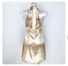 Gold Loose Dress
