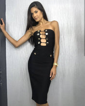 Black Orchid Bandage Dress