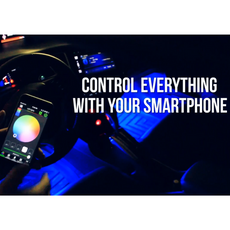 Interior LED Lights With Smartphone Control