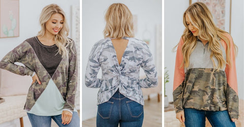 Cutest Camo Tops for Women