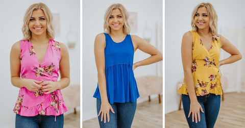 spring tops for women