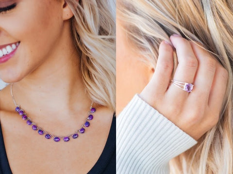 Filly Flair Amethyst Jewelry
