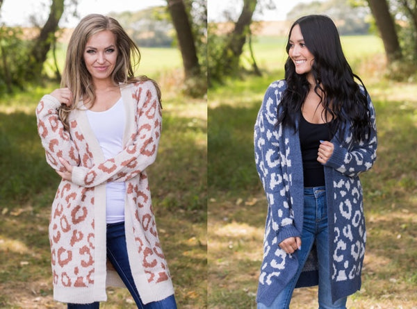 PRE-ORDER POSITIVE ENERGY DRAWS ATTENTION CARDIGAN