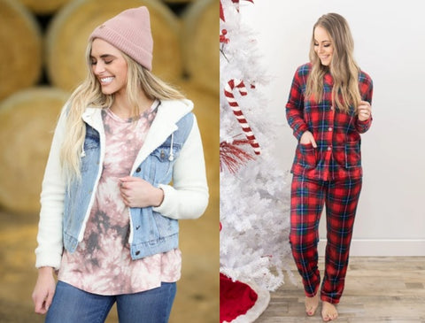 Womens Winter Holiday Fashions