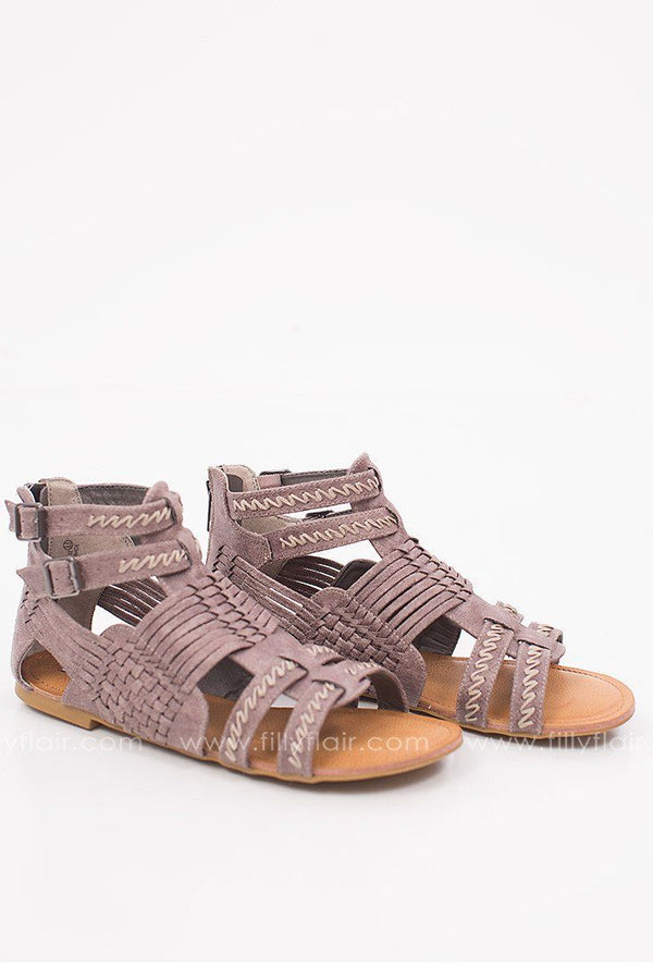 Not Rated Bed and Breakfast Sandal in Grey