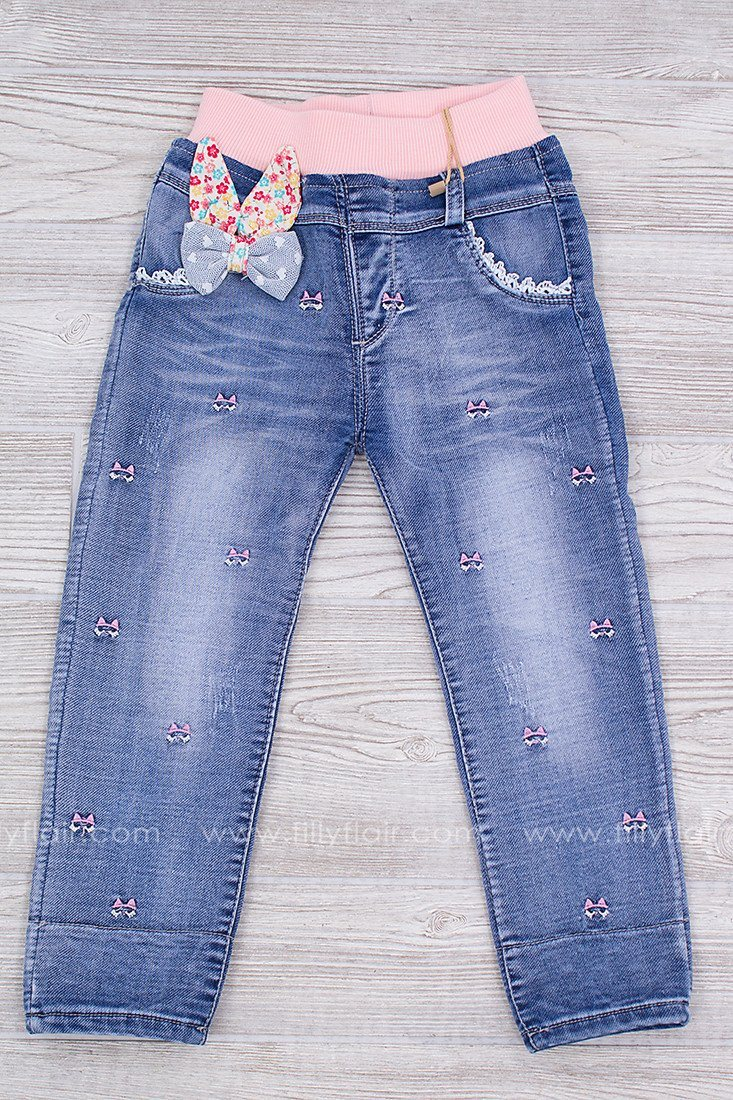 Love Bug Embroidered Kid's Jeans
