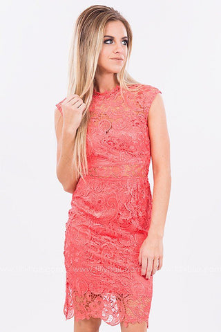 Take Me to Paradise Lace Dress