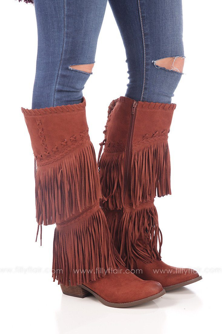 Buffalo Belle Fringed Boot