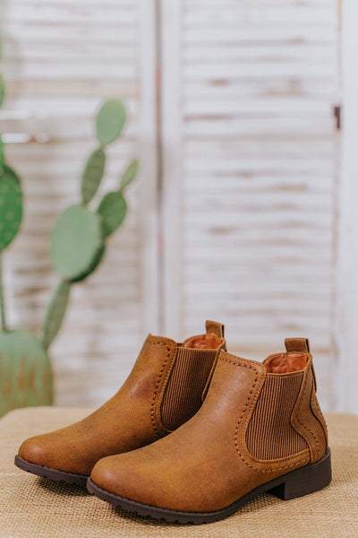 Inspire To Be Booties in Tan - Filly Flair
