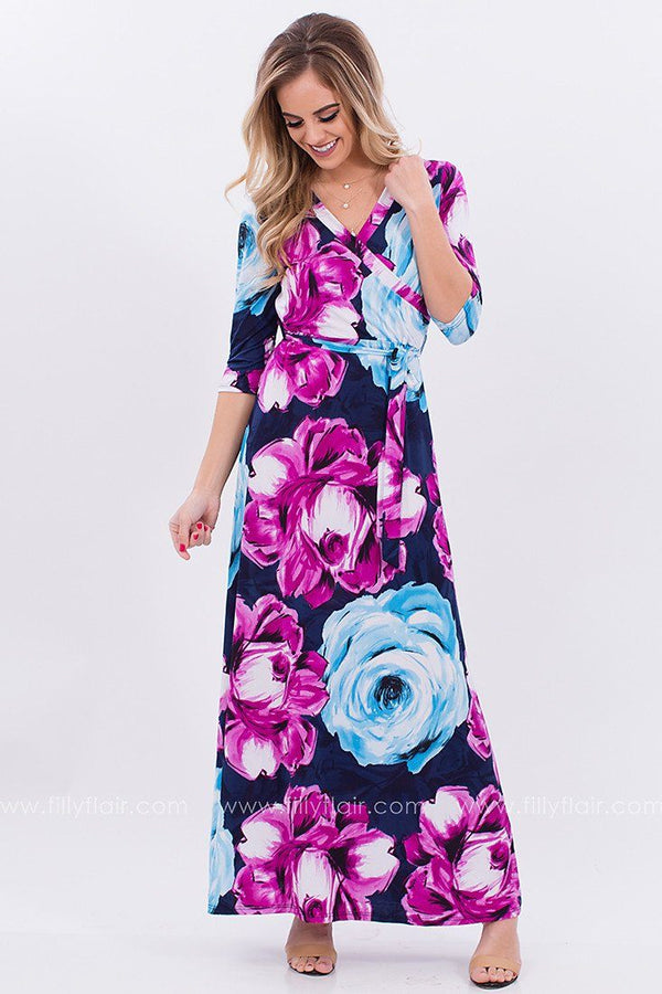 Ever After Floral Maxi Dress