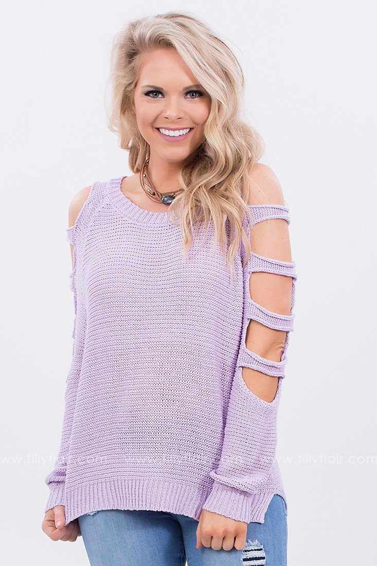 Cut Out Sweater