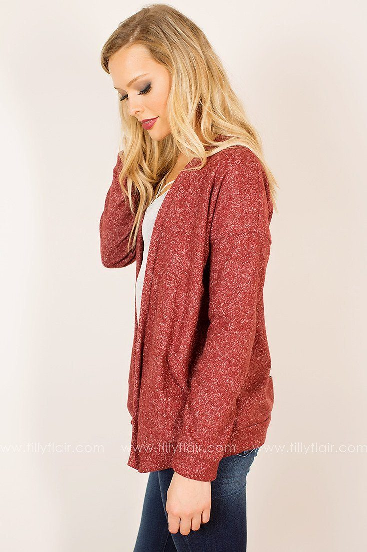 Taken Aback Sweater in Red