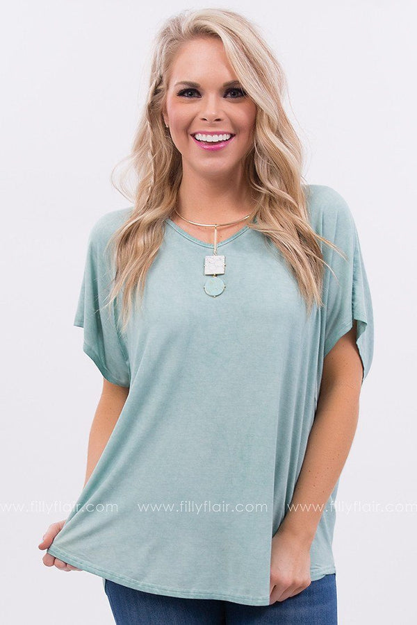 Positively Radiant Oversized Tee in Mint