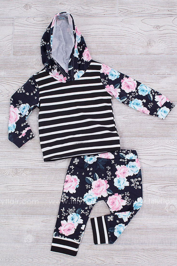 Spring Forward Kid's Two Piece Floral Set