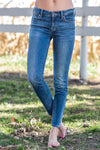 Lucky Ava Medium Wash Super Skinny Ankle Jeans - Filly Flair