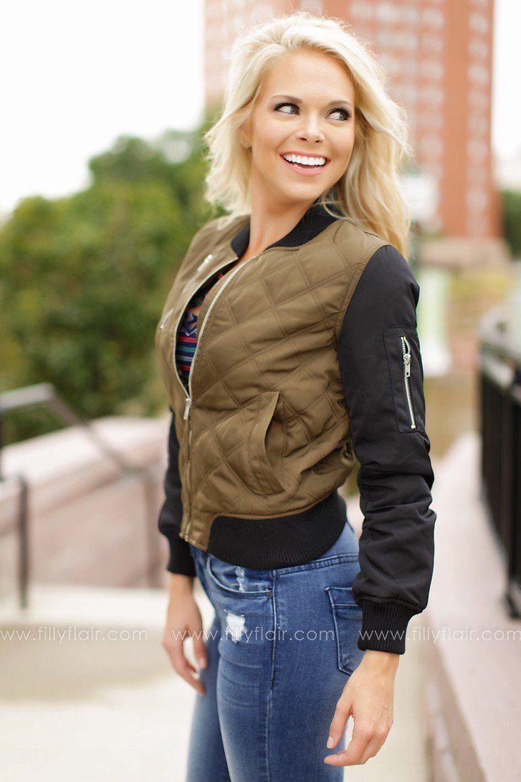 Ride On Bomber Jacket