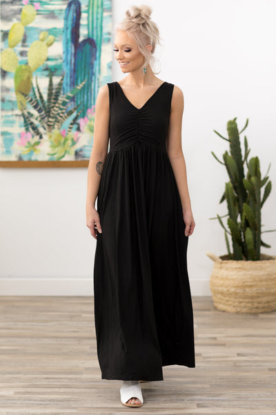 All Time Classic Maxi Dress in Black - Filly Flair